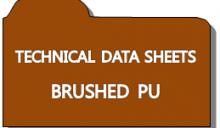 [Technical Data Sheets] Brushed PU