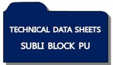 [Technical Data Sheets] Subli Block PU